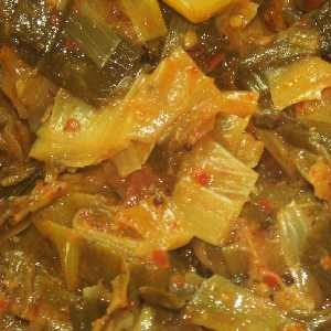 Sri Lankan Food: Leek Curry